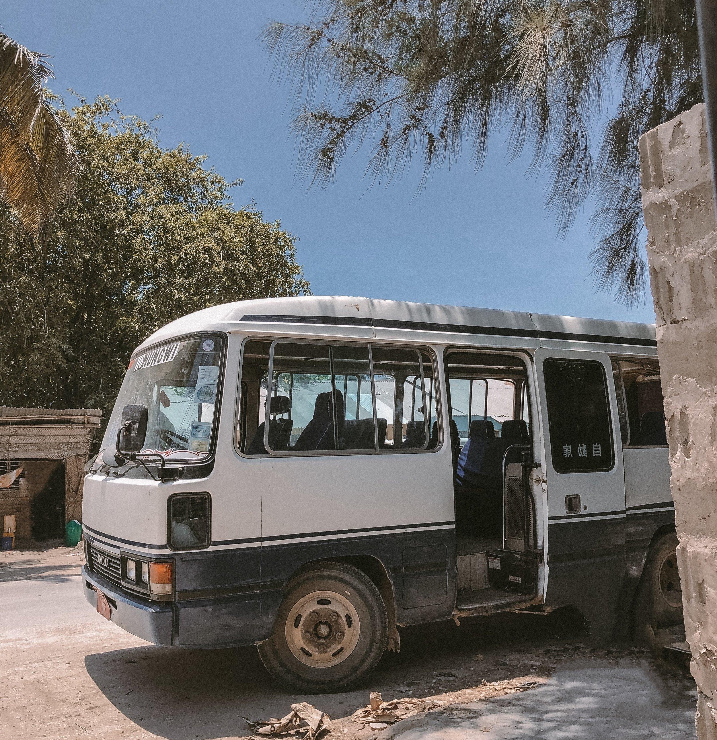 Unser Dala Dala von Stone Town nach Nungwi.
