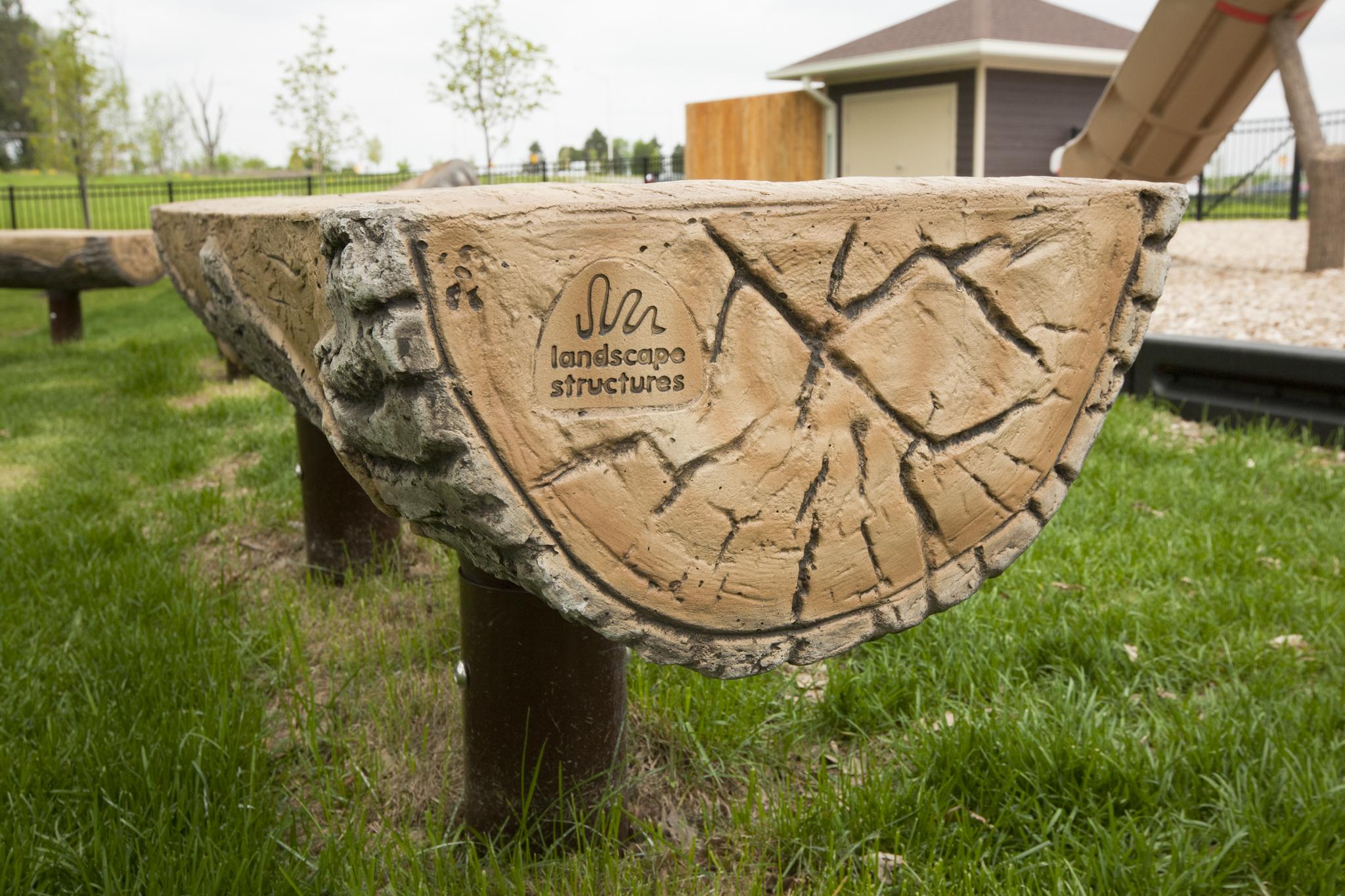 $1975 - Log Bench