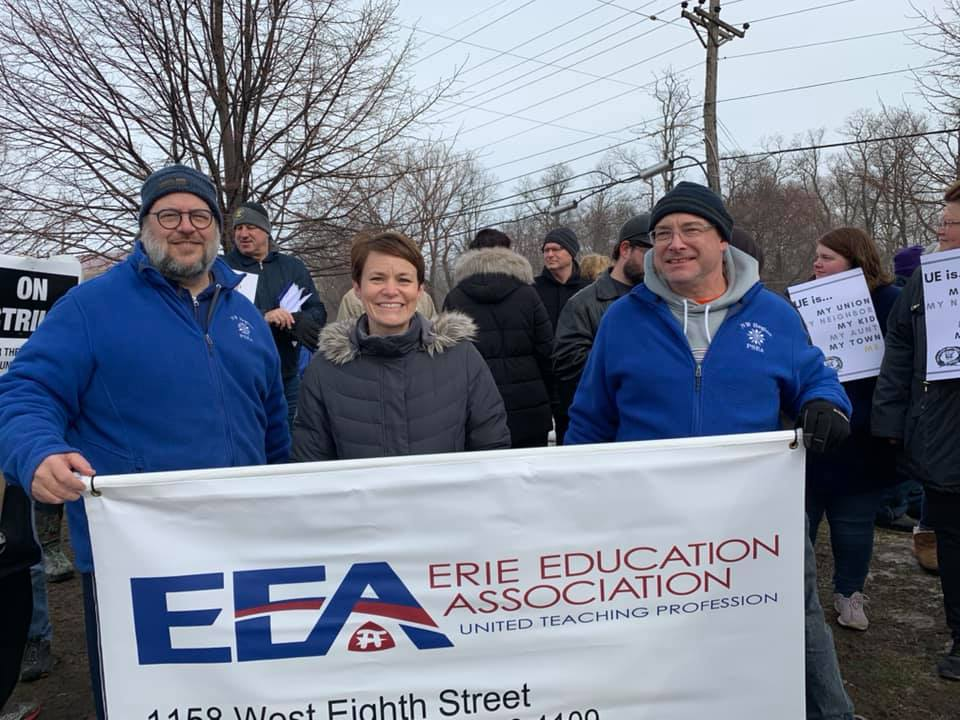 (Source:  Erie Education Association , Facebook)