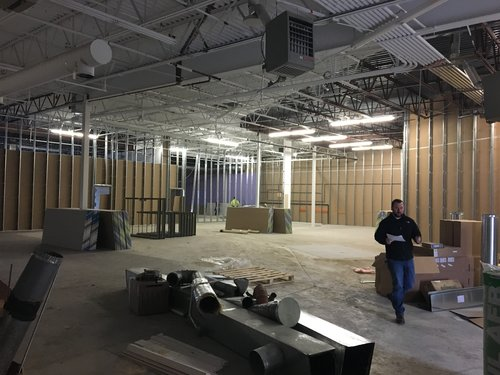 AVEX added 50% more warehouse space to increase storage and prep capacity.