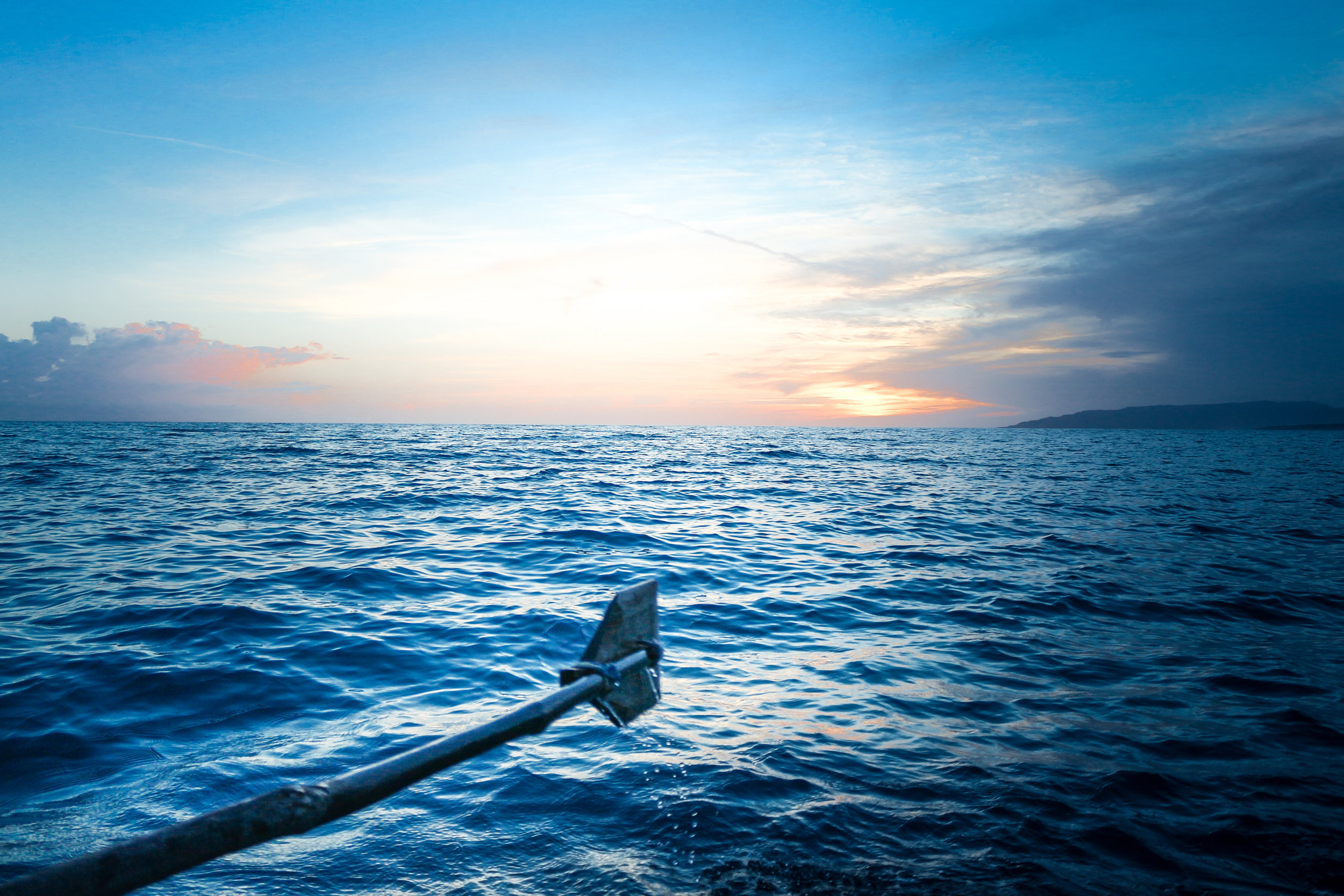 About - Find out about the man rowing solo across the Atlantic.