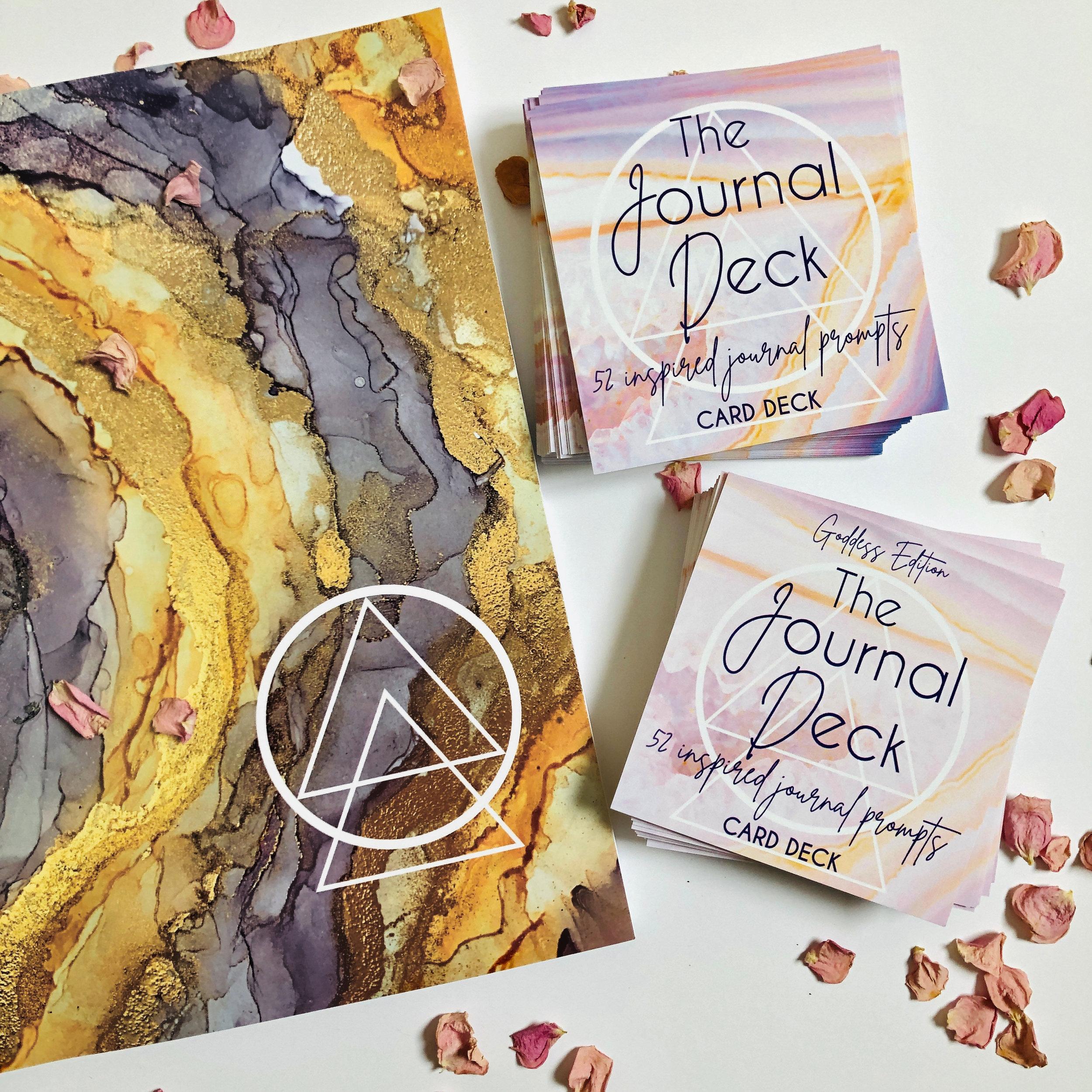 Goddess Edition Deck + Journal Bundle - $45