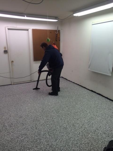 gs - flake finish garage epoxy during.JPG