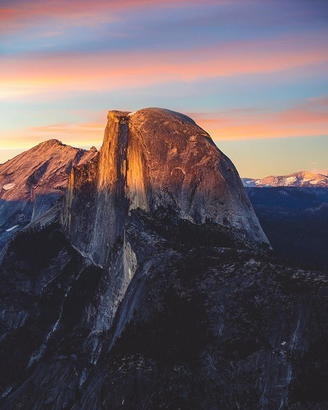 I still can't believe I got the permits and climbed to the top of this mountain! PSA: train before you attempt Half Dome. You don't want to end up like me: dehydrated, vomiting, and laying on the ground trying not to pass out!