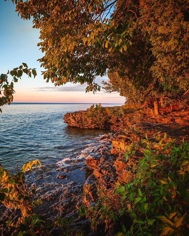 I've done a lot of traveling across the country over the last few years, but the shores of Lake Michigan in Door County always bring me back!