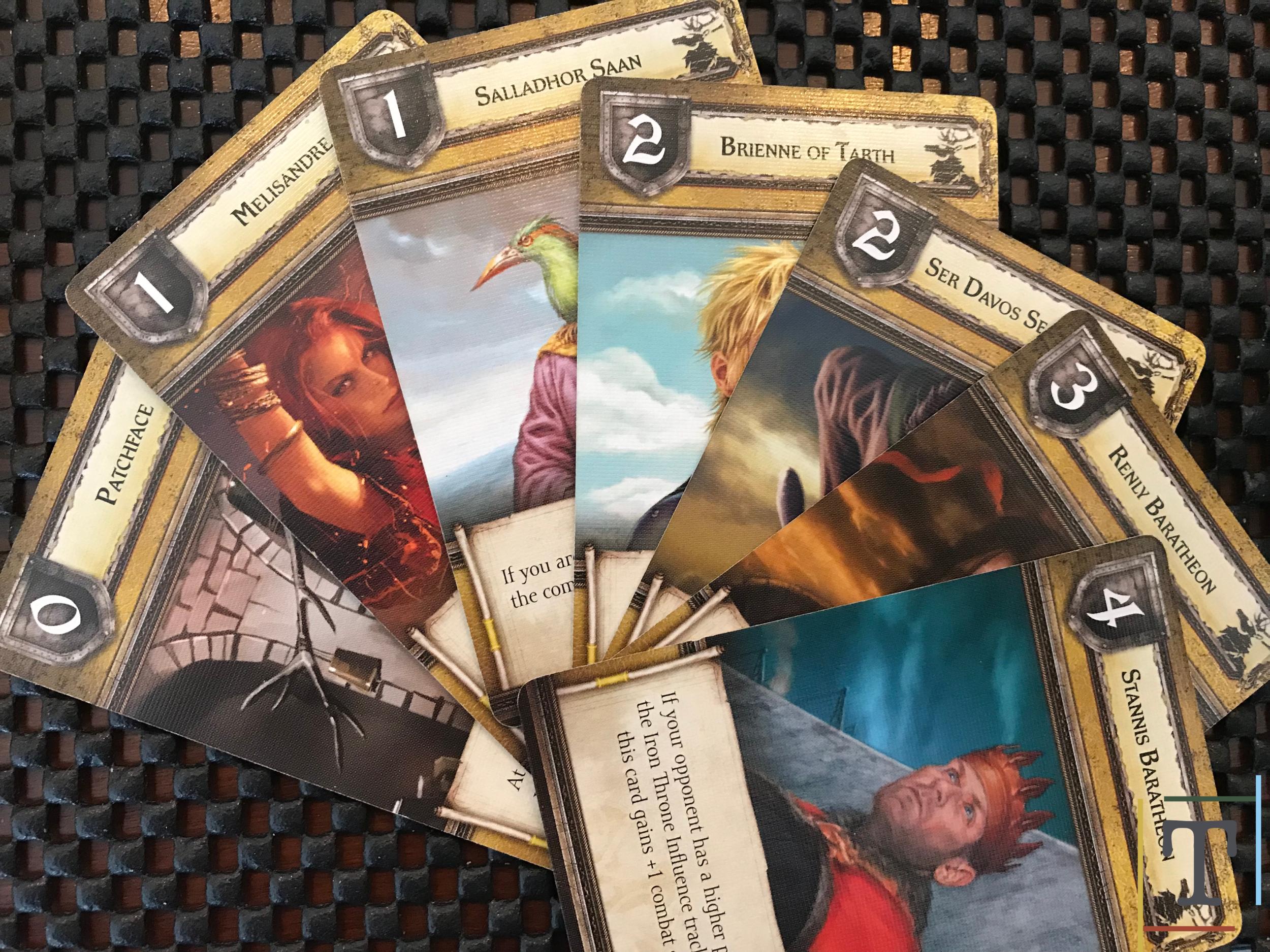 Baratheon House Cards