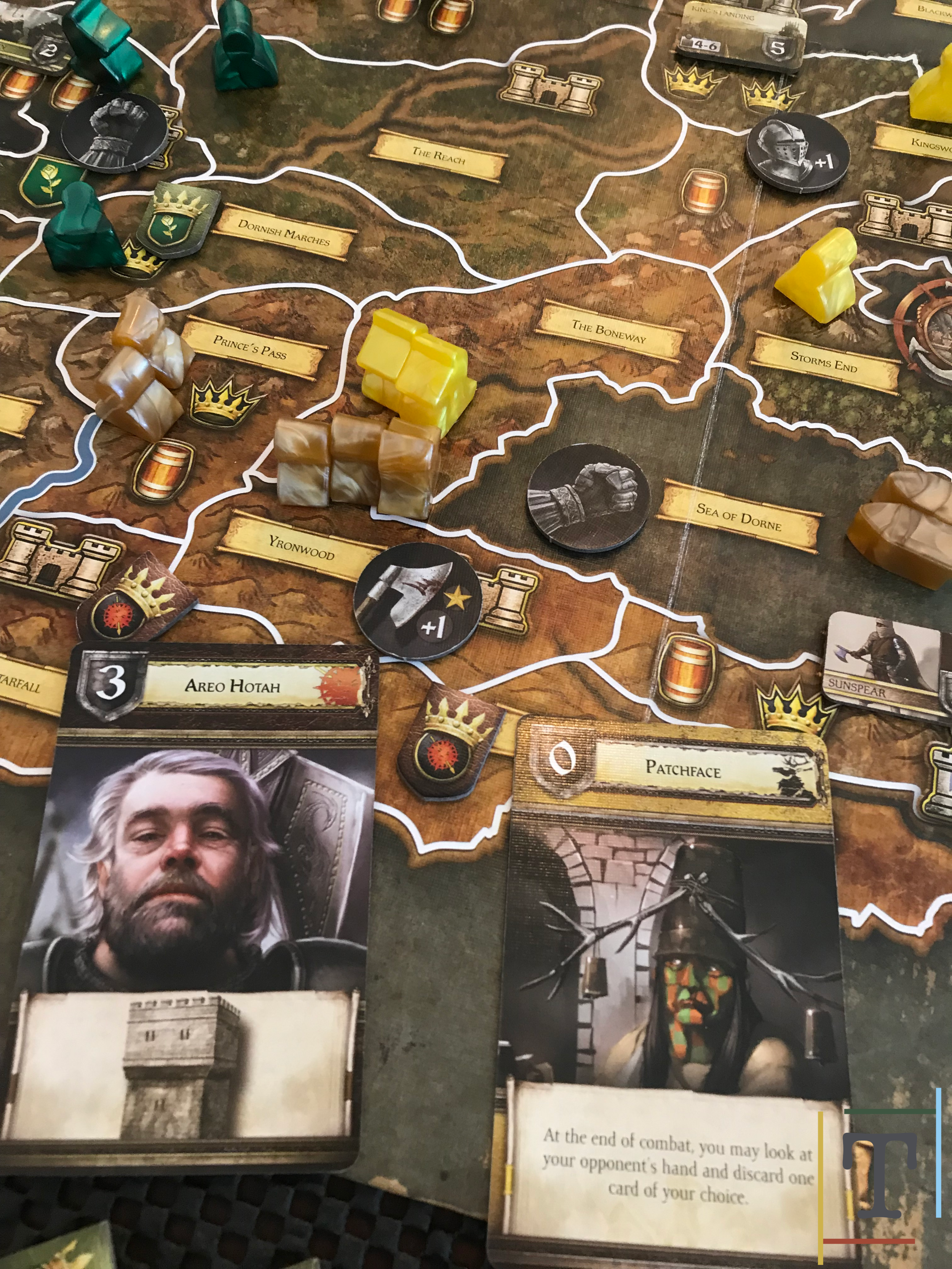 House Martell and House Baratheon clash in The Boneway