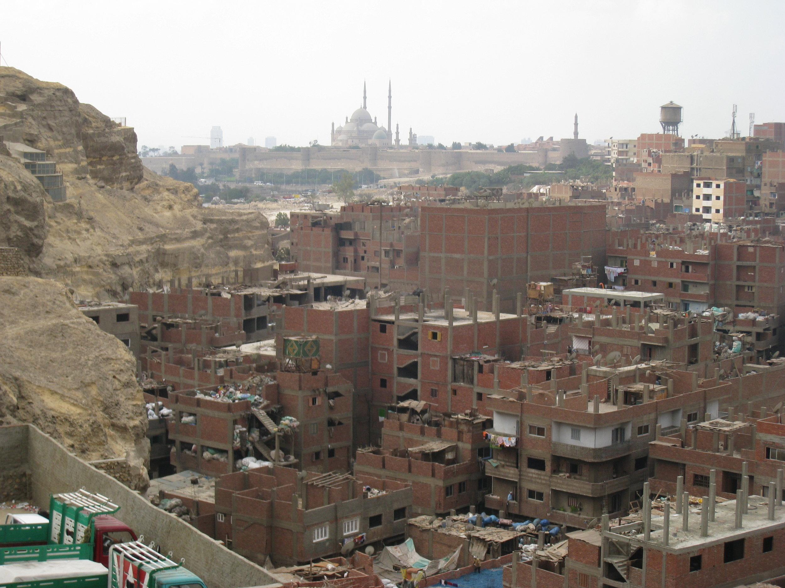 Citadel as seen from Nasr City