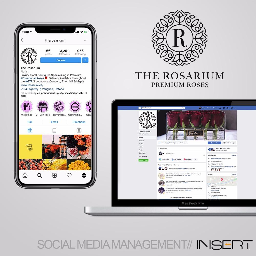 THE ROSARIUM - SOCIAL MEDIA SERVICESPRINT DESIGN