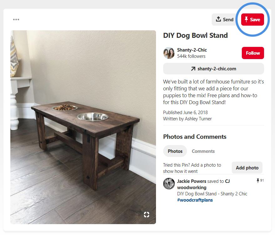 Pinterest Product Pins