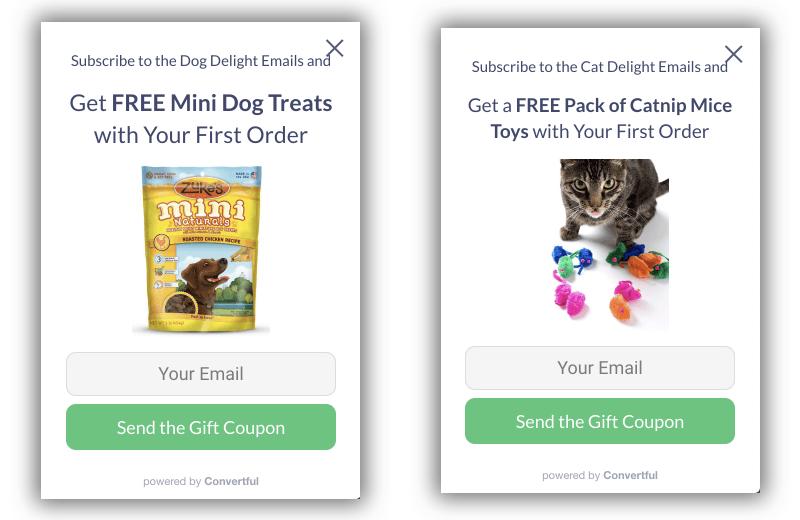 Pet Engine Marketing Email Segmentation