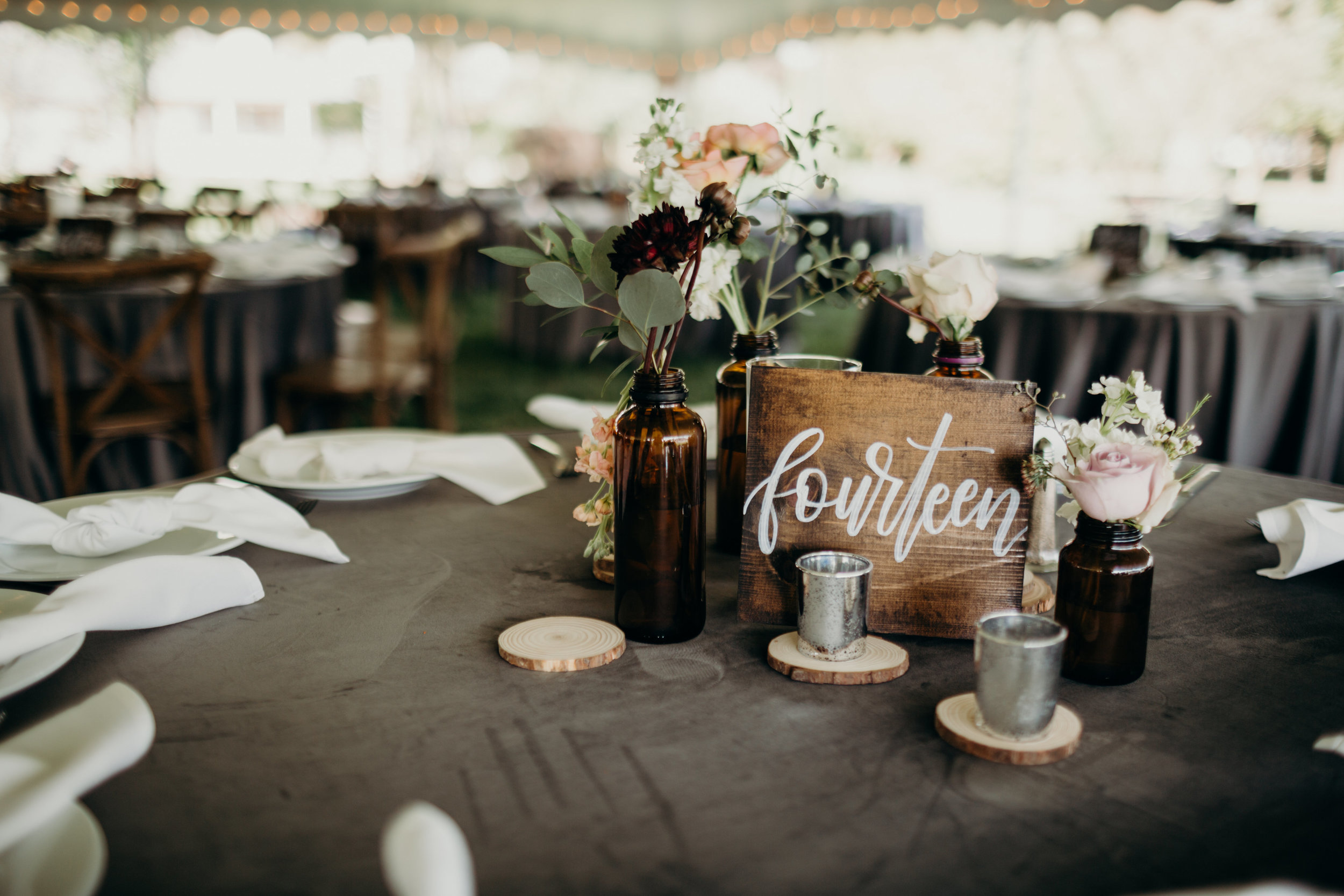 Rustic fall wedding - by HOUSE Photography