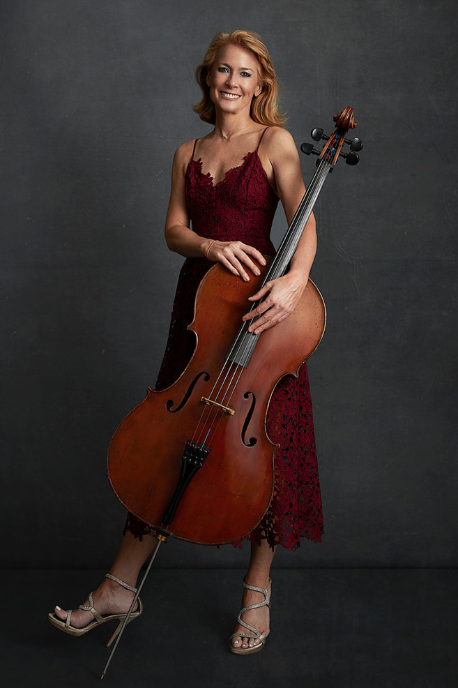 """Sara Sant'Ambrogio - Suite No. 6 in D majorCelloGRAMMY Award winning cellist Sara Sant'Ambrogio first performed solo Bach at Carnegie Hall at the age of 16 and has gone on to perform thousands of concerts on 6 continents as a soloist and with the Eroica Trio, recorded multiple award-winning solo and trio CDs, while never forgetting her first love, Johann Sebastian Bach.""""Technically formidable and intensely communicative,"""" Gramophone MagazineSara's recording of the six suites is available at www.SaraSantAmbrogio.com."""