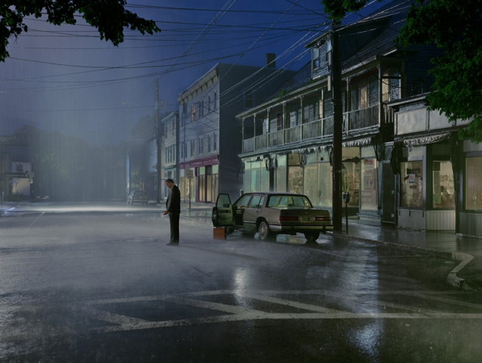 Gregory Crewdson - If you wanted to write a story with one shot then this is the photographer and no one does it better. Having seen his work at Paris Photo I fell in love immediately. now if someone could buy me a print :)