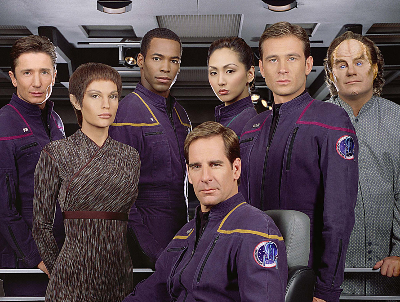 Star Trek Enterprise - I was late to the Star Trek party, in fact, it wasn't until the new Star Trek Discovery on Netflix that I even started watching it. I totally get why people love it. I couldn't stop watching Enterprise and could watch it all over again. I now have Next Generation on my list and can't wait.