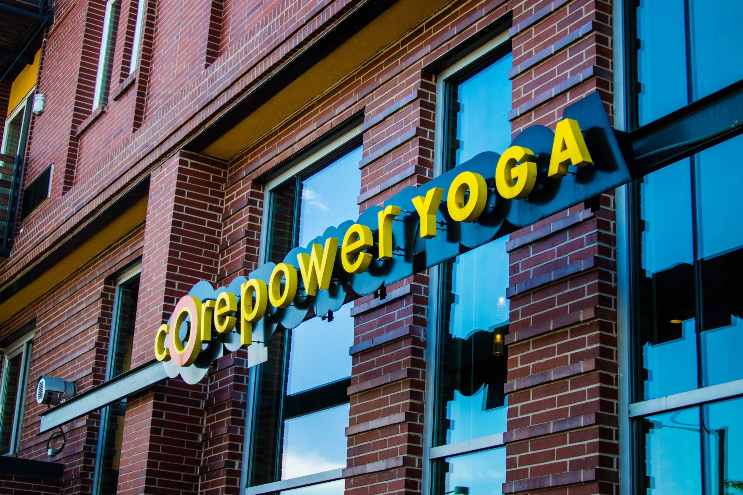 Core Power Yoga.