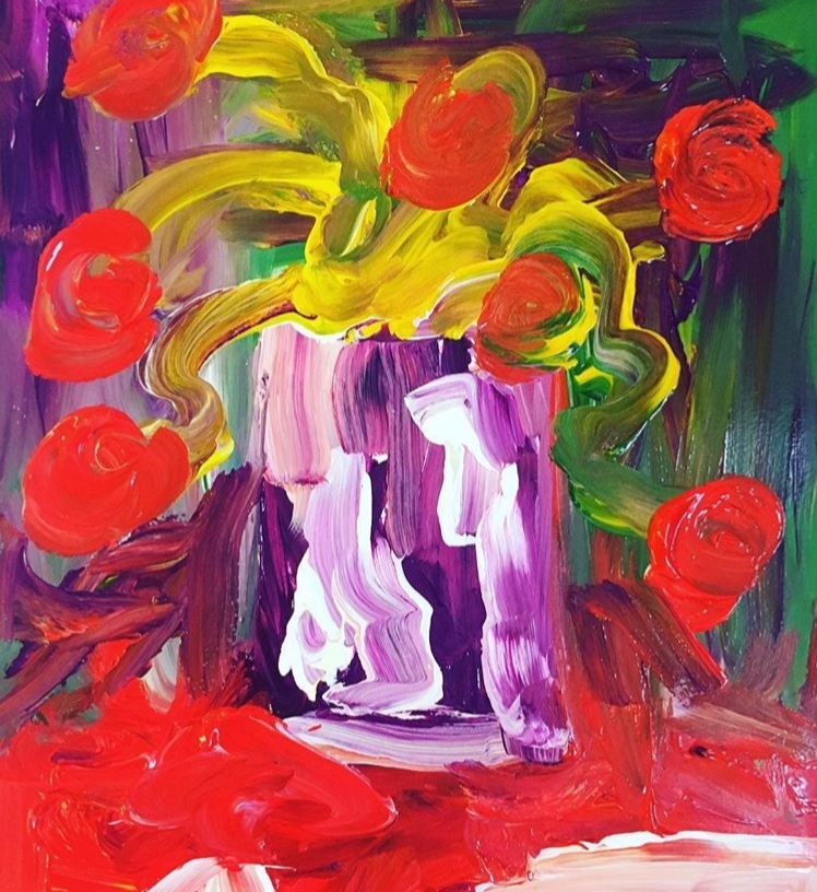 Red Flowers, $50/print