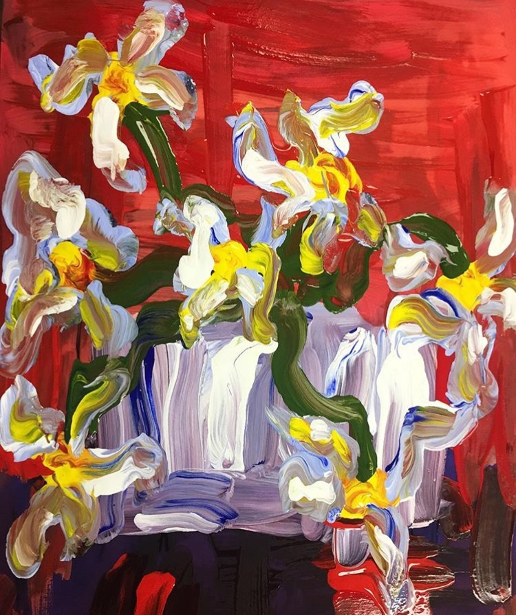 White Flowers no. 7, $100 SOLD