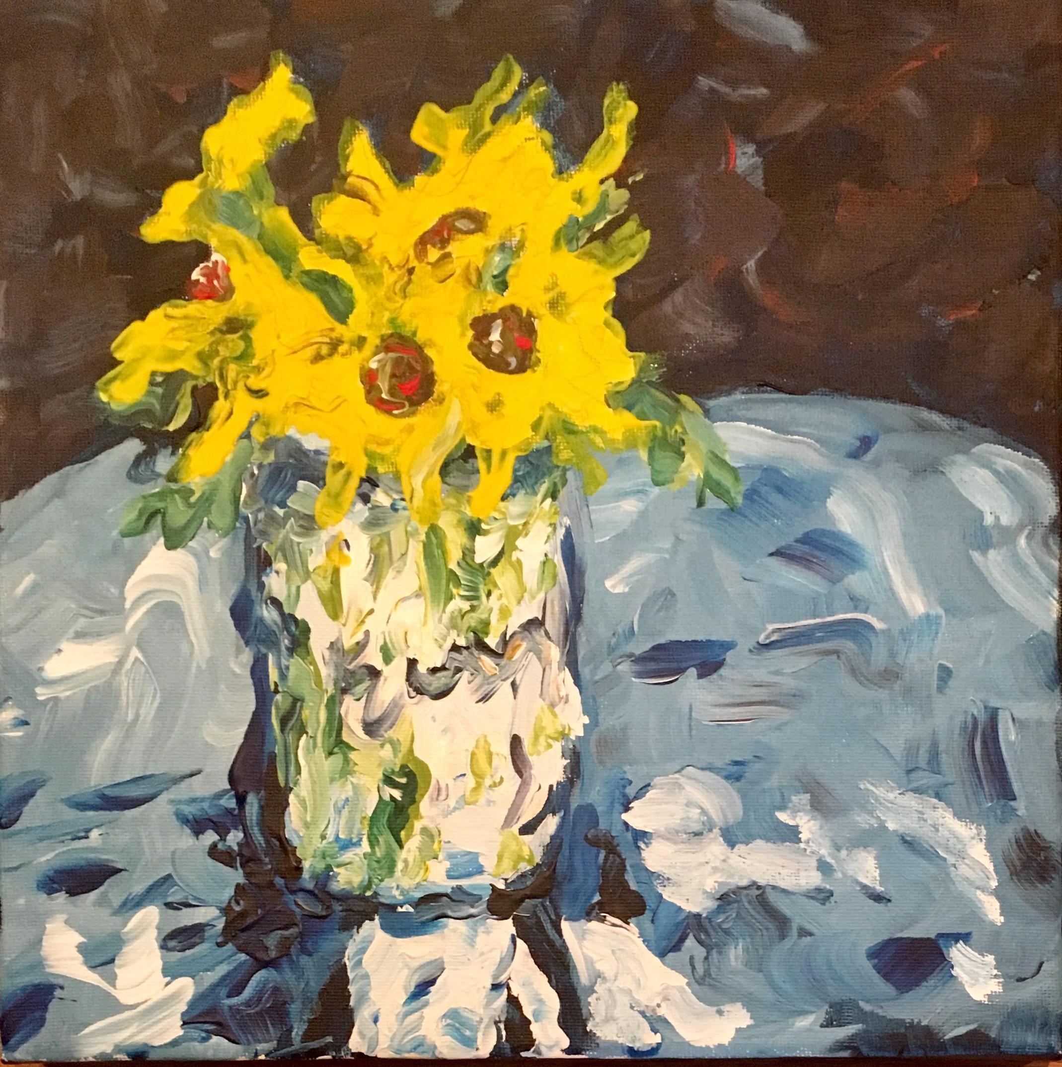 Yellow Flowers no. 1, $50/print