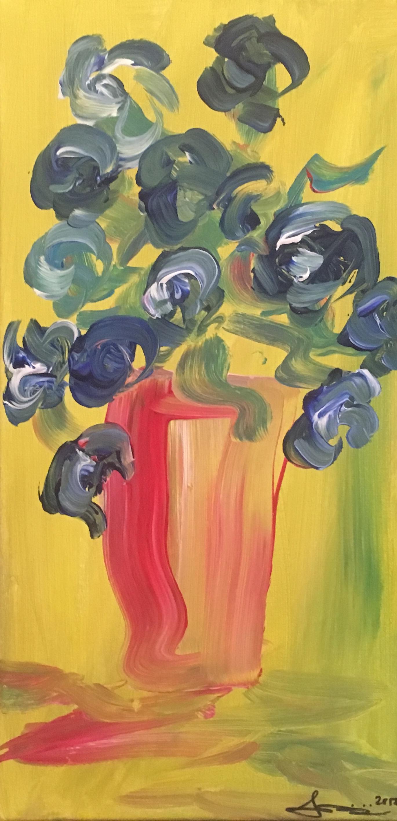 Blue Flowers no. 3, NFS