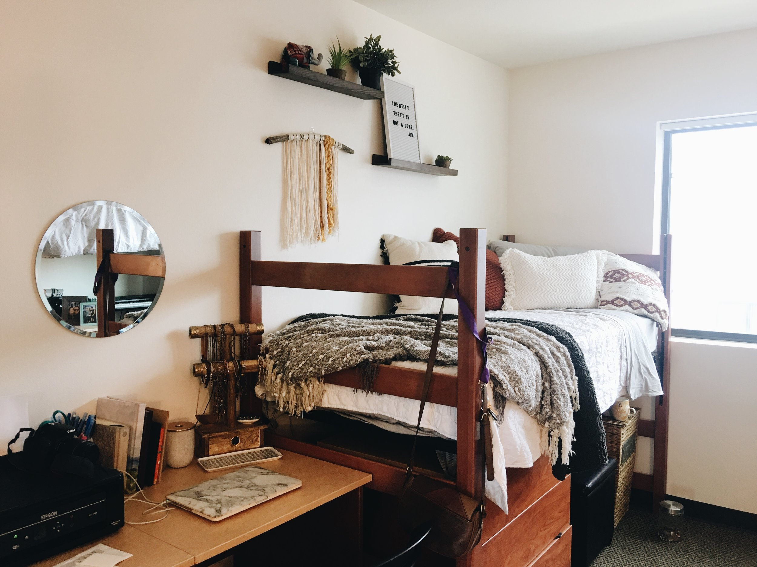College Dorm Room & Decor — HAN ELAINE