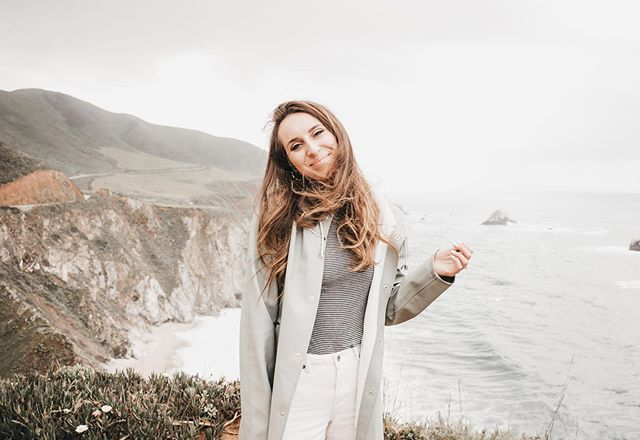 Big Sur, CA. | will be coming to visit often because even on a wet + windy day it was gorgeous! i felt like i was in a different country! where's a spot in california you're wanting to see? getting some inspiration from my insta pals to appreciate + visit the place i'm living in a little more :)