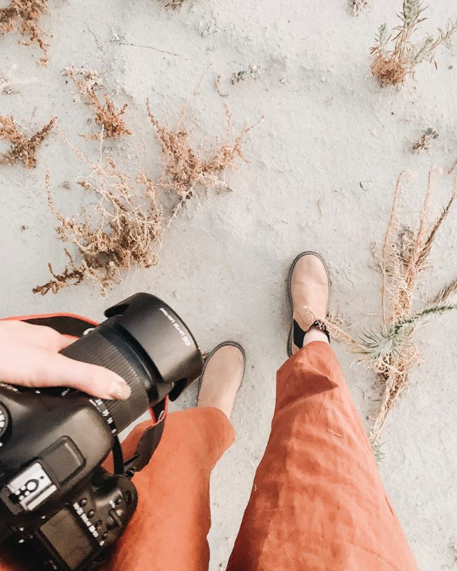 feet on sand, camera in hand 🌿 happy tuesday, friends!