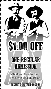 COMPLIMENTARY 1.00 DOLLAR OFF COUPON FROM SGK GUN SHOWS!
