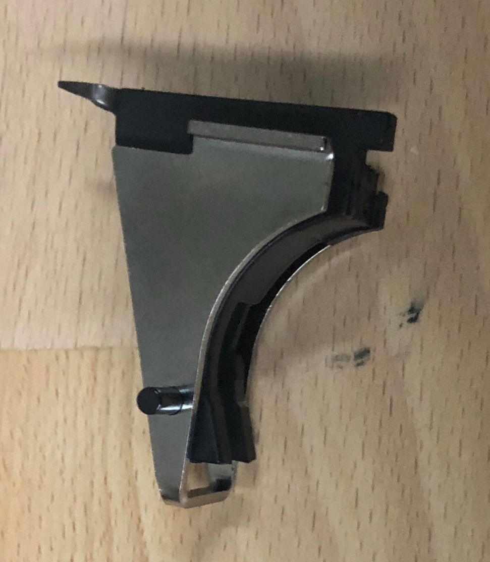 What trigger housing do I have? - It is very easy to tell, you place the trigger housing into the rail section from the Polymer 80 PF45, you will see the bottom half sticking out of the bottom.