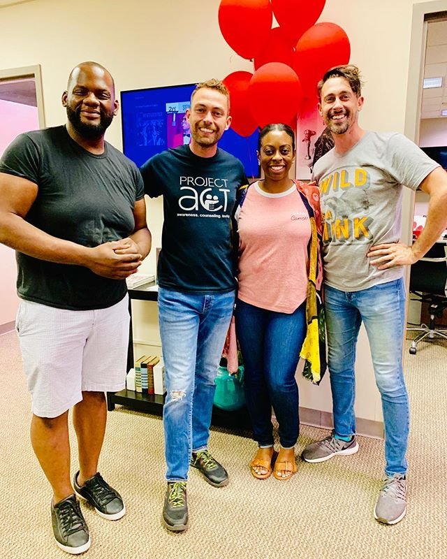 🎈Awesome day with our friends at Positively Living. We learned so much about HIV testing and how easy it can be to prevent. Lots of advancements in technology that make prevention and even living with HIV possible. Thank you Positively Living for our continued partnership. #ncbwknox #hivprevention #knoxville #nc100bwinc
