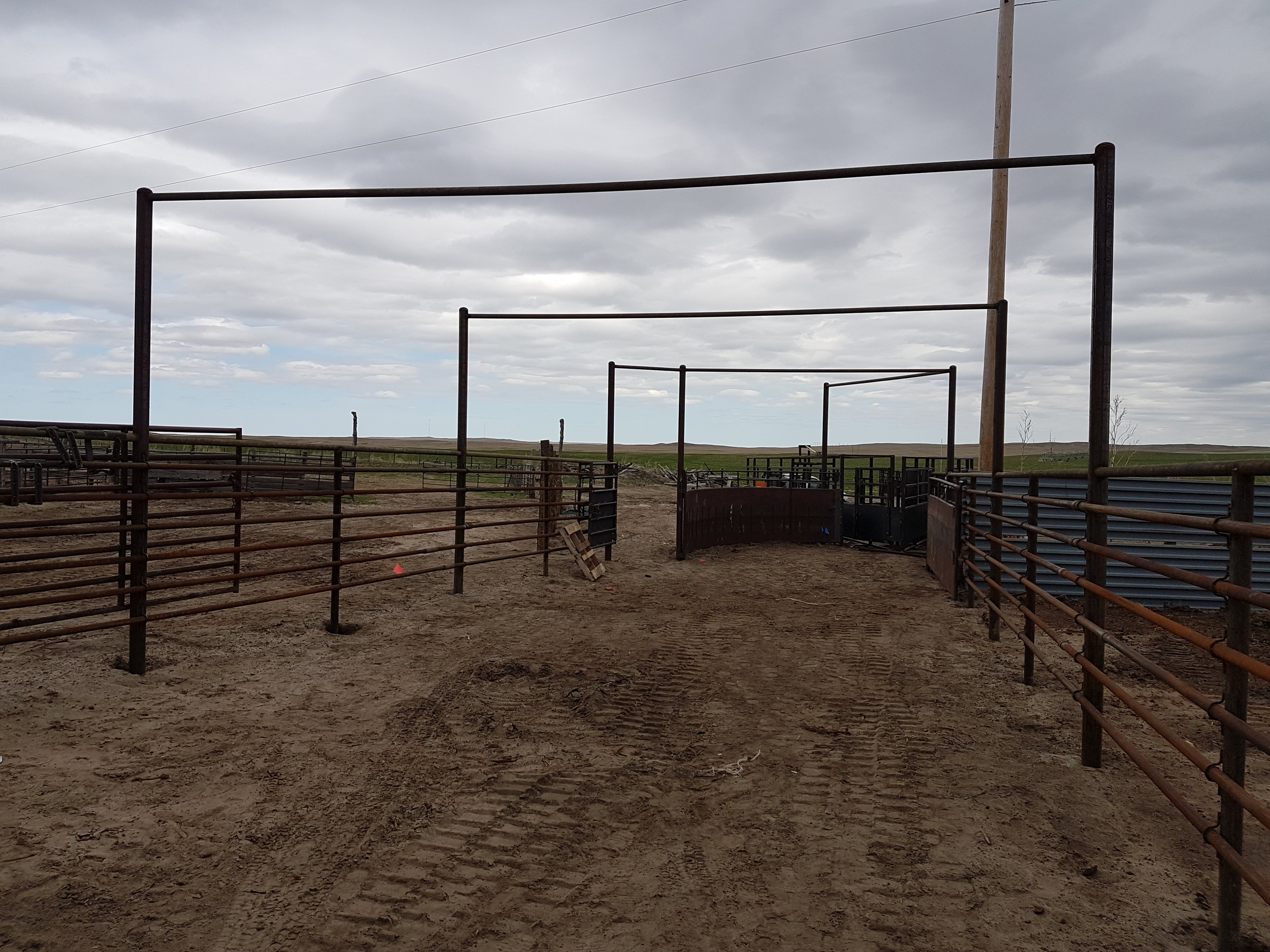 Ranch corrals