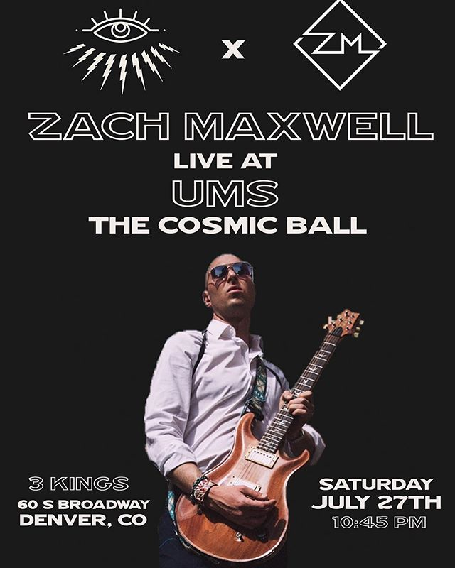 This Saturday! Gonna be so freggin' LIT.  Get your tix now if you don't have em yet. . . . . . . . #Music #DenverMusic #LiveMusic #LiveMusicDenver #ums #undergroundmusicshowcase #synesthesia #thecosmicball #ums2019 #theums #InstaFollow #InstaLike #GoodMusic #Producer #Production #Vocalist #Performer #Performance #Guitar #Guitarist #GuitarPlayer #Singer #MusicIsLife