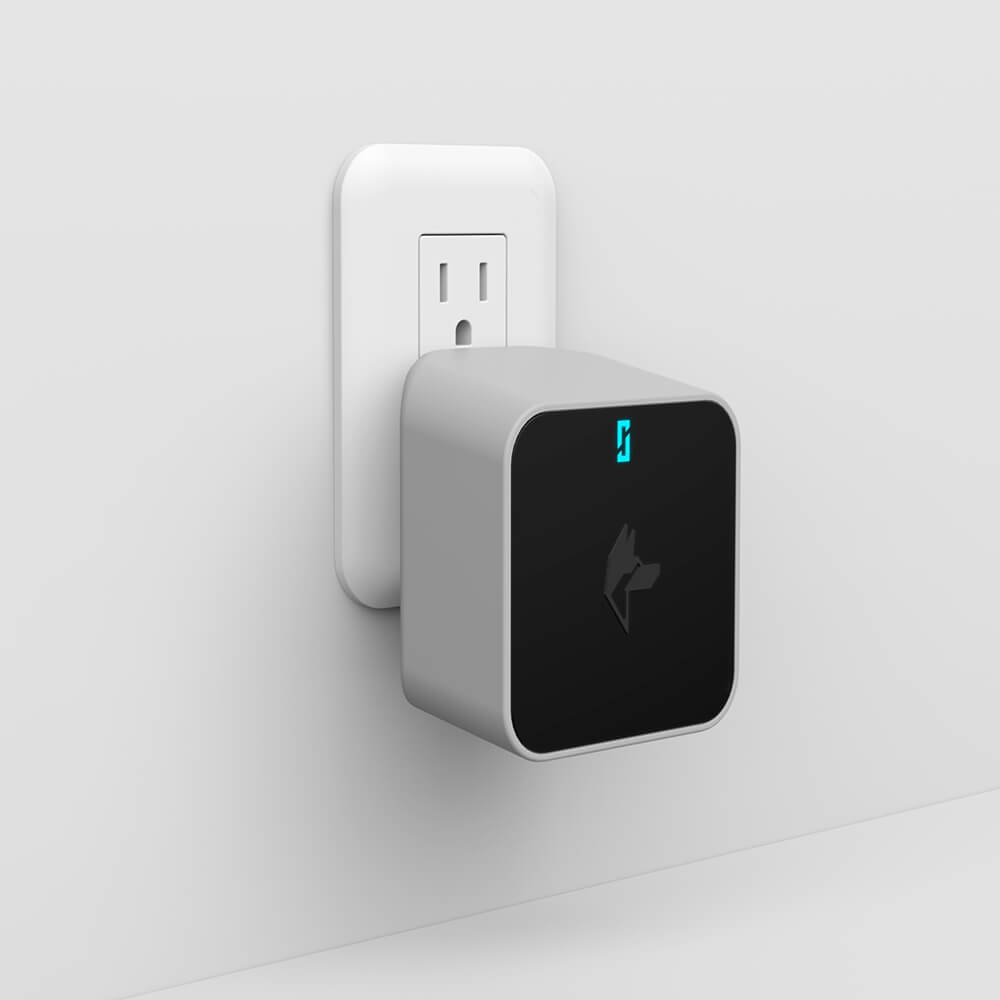 Wi-fi Bridge - Bluetooth technology allows for direct communication from your smart device to our lock when you are standing outside your door and touching to enter. However, with our Wi-fi bridge you can now control and monitor your lock remotely from anywhere around the world.