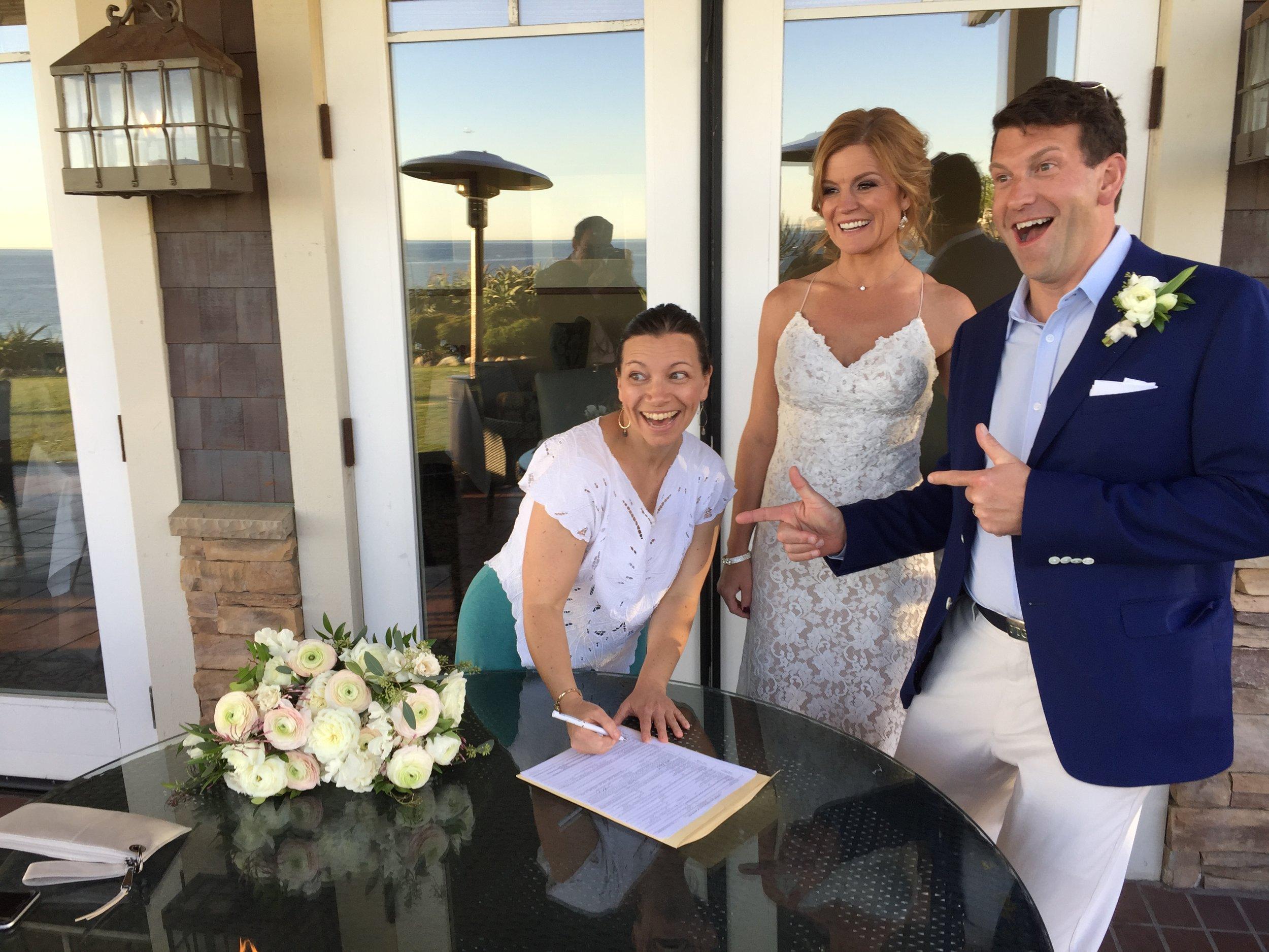 Teresa and Jamies wedding signing licence.JPG