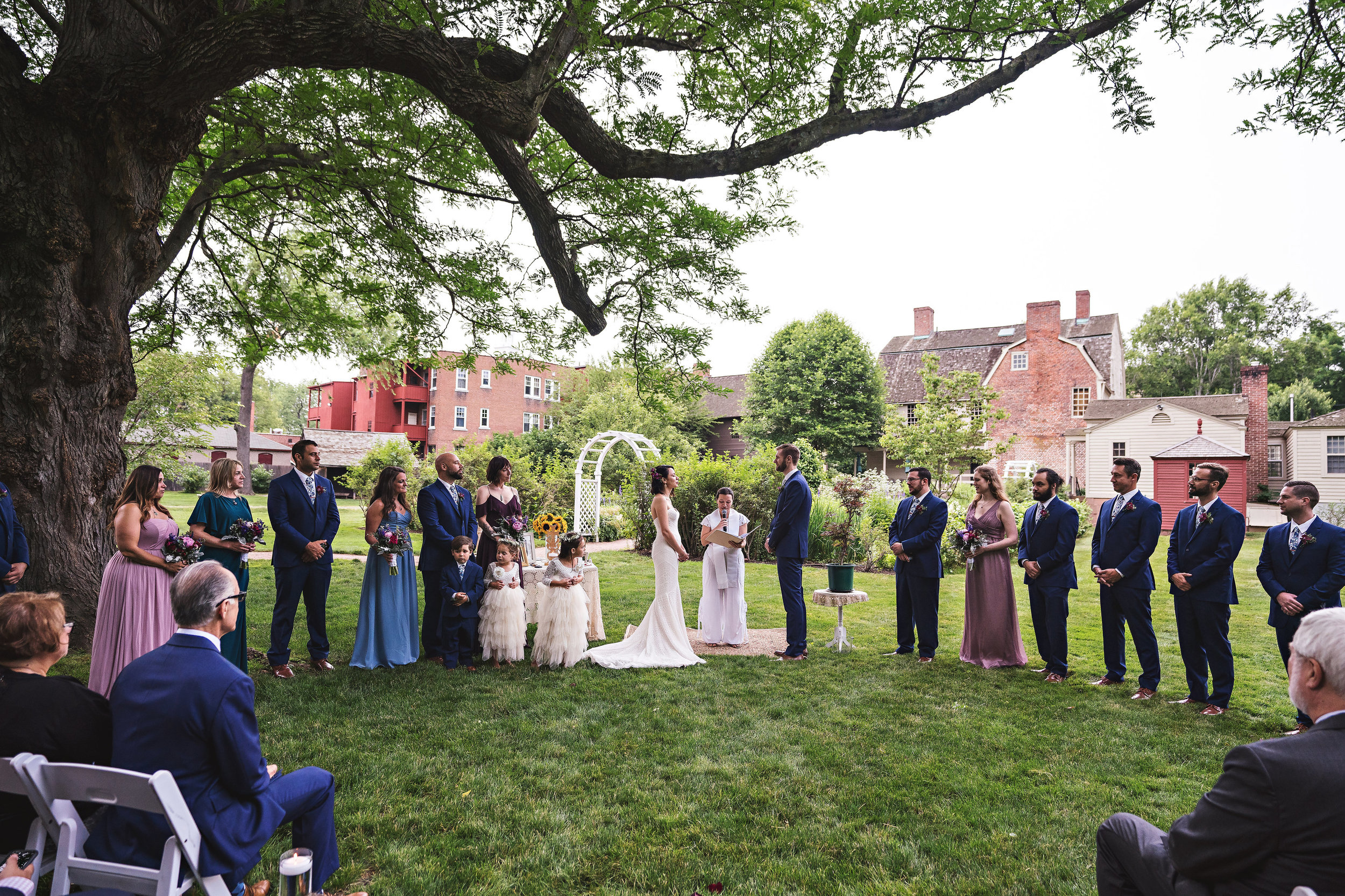 Whole Party Under Tree Taline & Will Ceremony Vows.jpg
