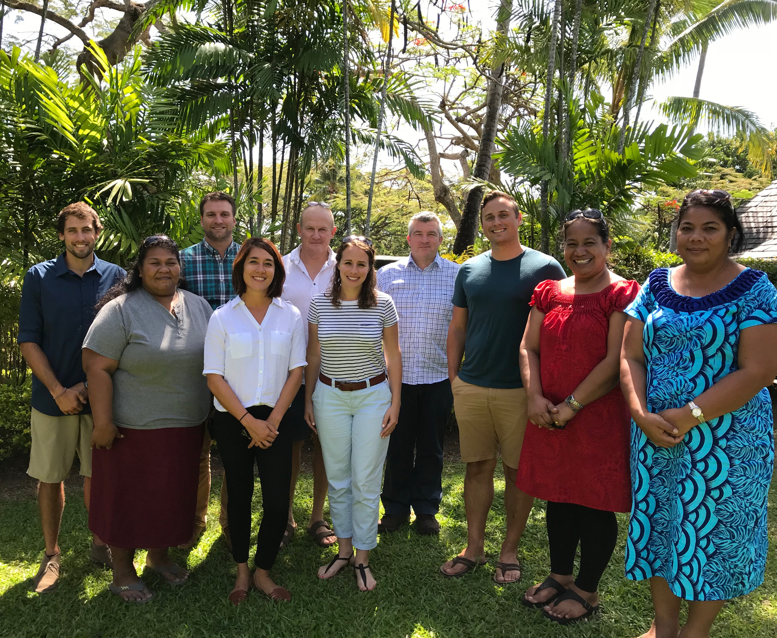 Healthy reefs, Healthy I-Kiribati Initiative Team