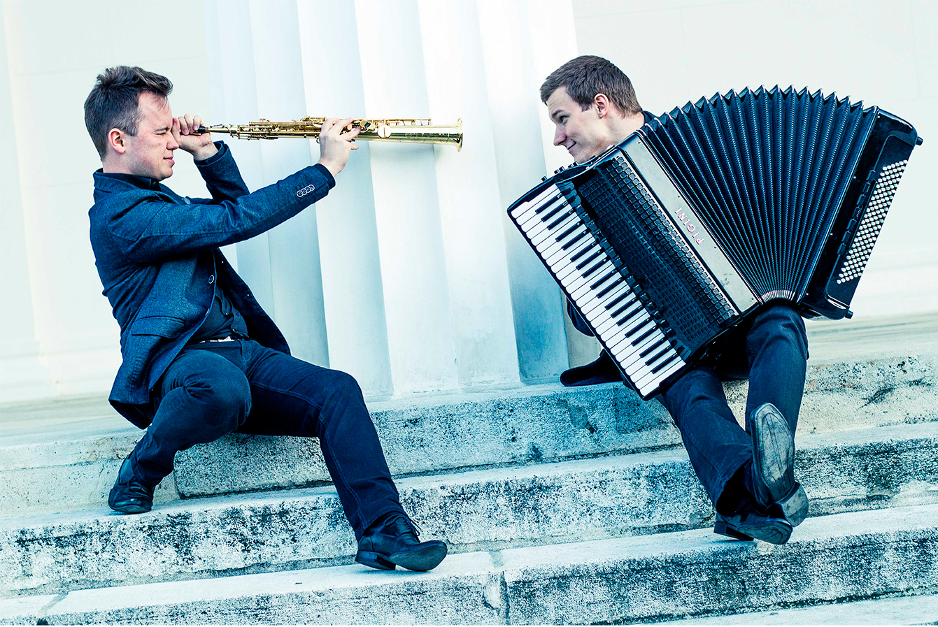 DuoAliada - Saxophone & Accordion Duo / Visit website