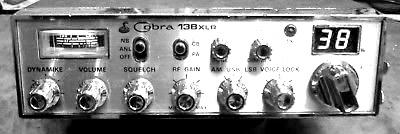 CB radio owned by C.J. McKnight