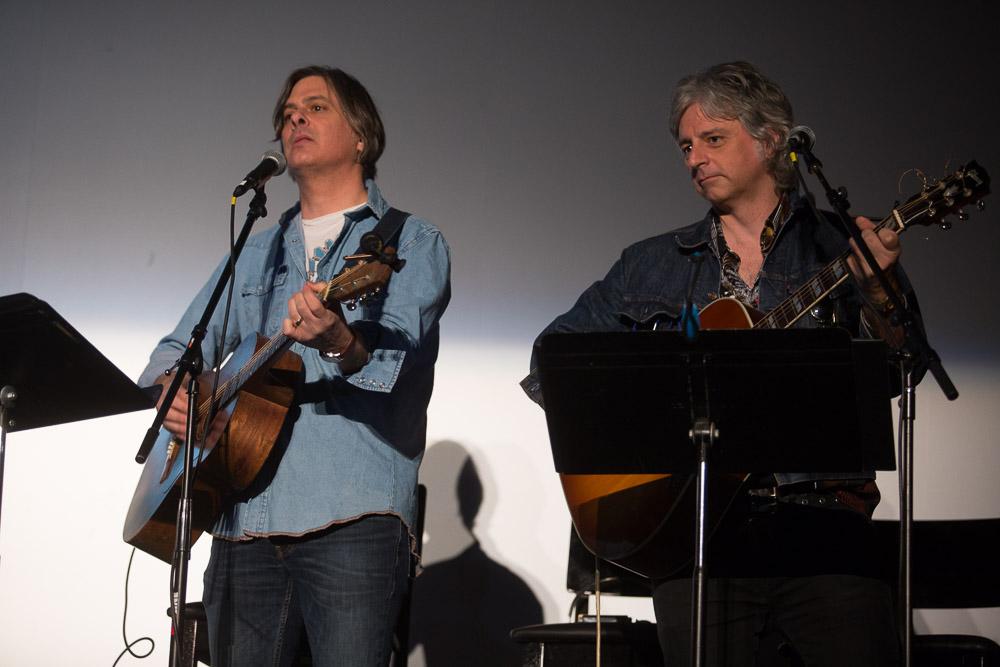 Mark Rozzo and Erik Paparozzi played C.J. McKnight's original 1977 songs