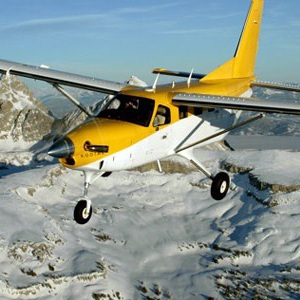 Quest Kodiak 100 over tetons flight school