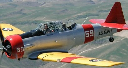 SNJ - The North American T-6 Texan was known as
