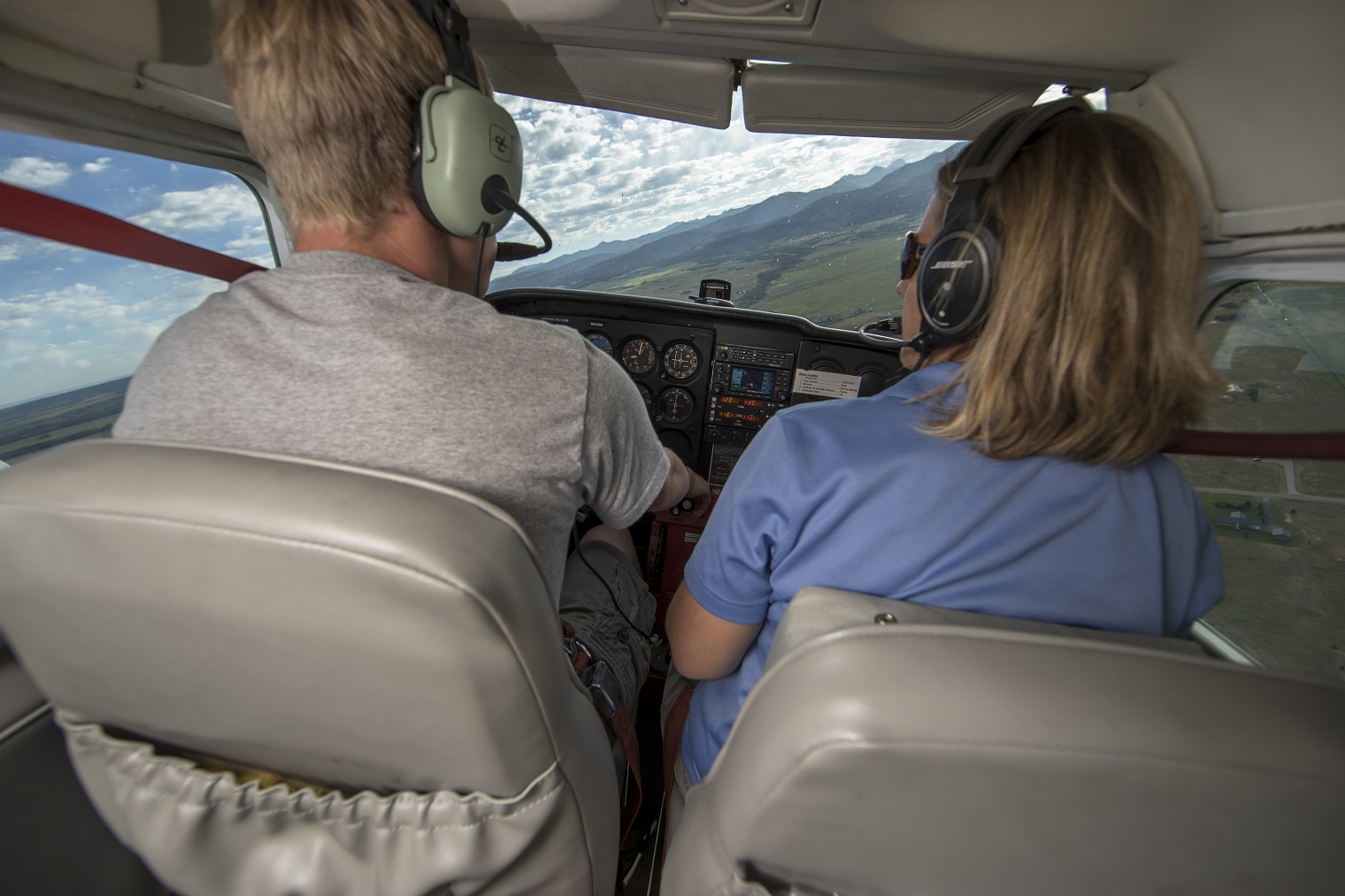 Learn to fly | flight instruction | Driggs Idaho