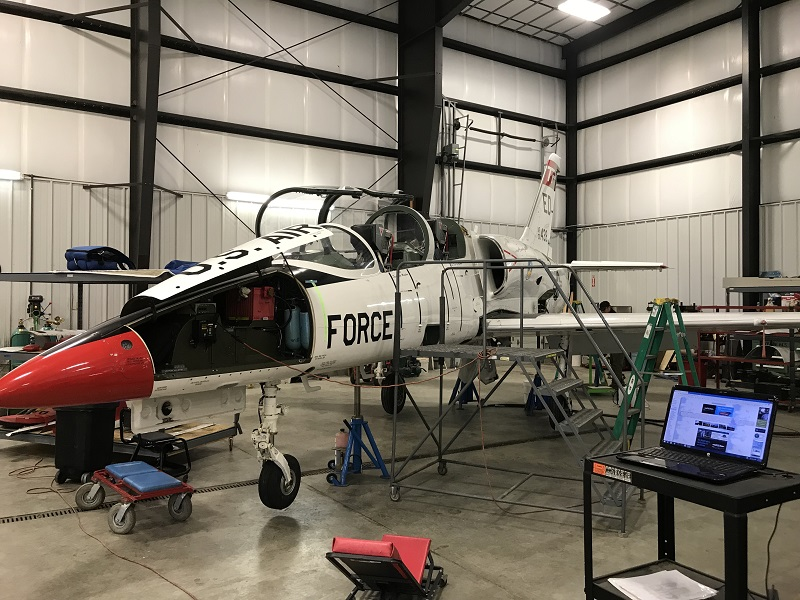 jet warbird aircraft maintenance