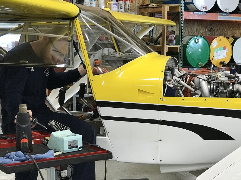 husky aircraft maintenance