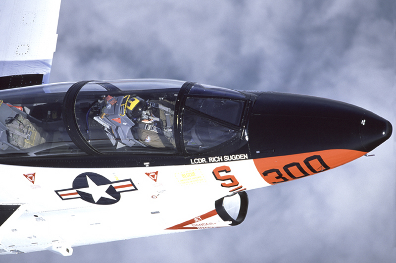 North American T-2 Buckeye overhead