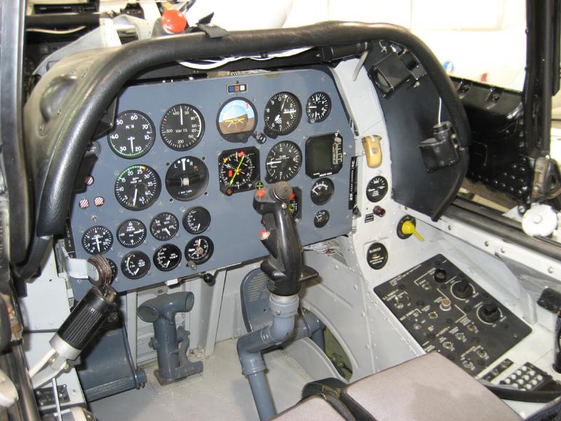 North American T-28 Trojan cockpit - 2