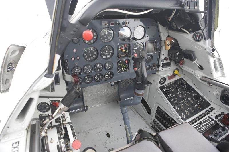 North American T-28 Trojan cockpit-4
