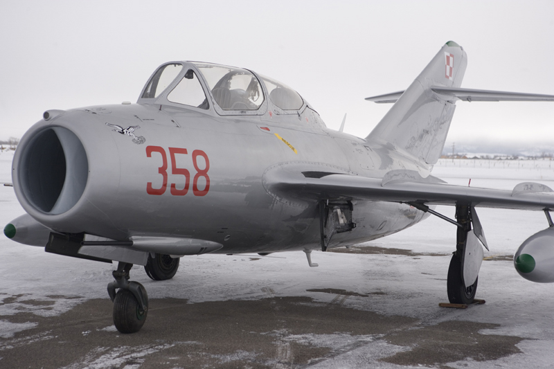 Mikoyan-Gurevich MiG-15 ready to fly