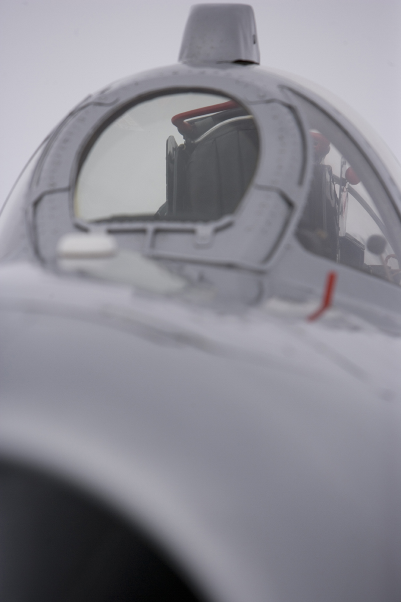 Mikoyan-Gurevich MiG-17 front view