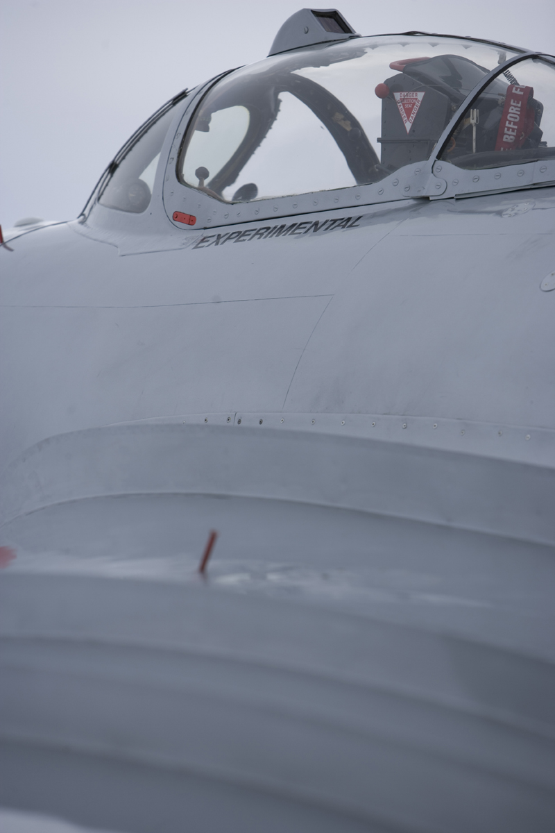 Mikoyan-Gurevich MiG-17 cockpit view